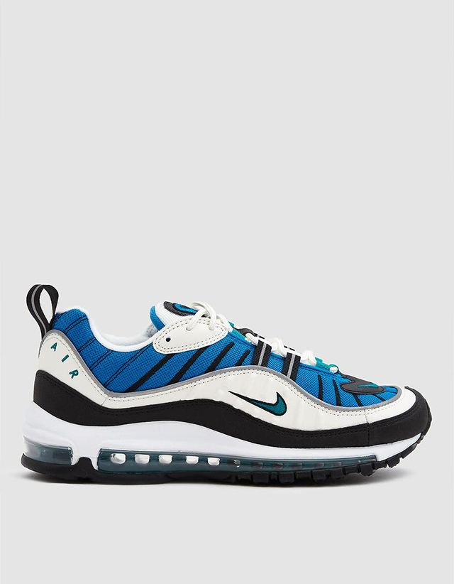 Women's  Air Max 98 Shoe in Sail/Radiant Emerald