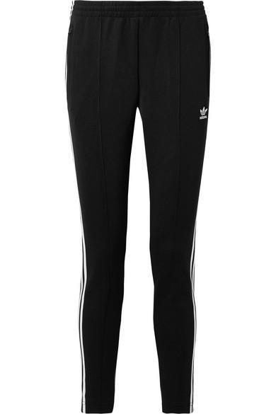 Striped Satin-jersey Track Pants