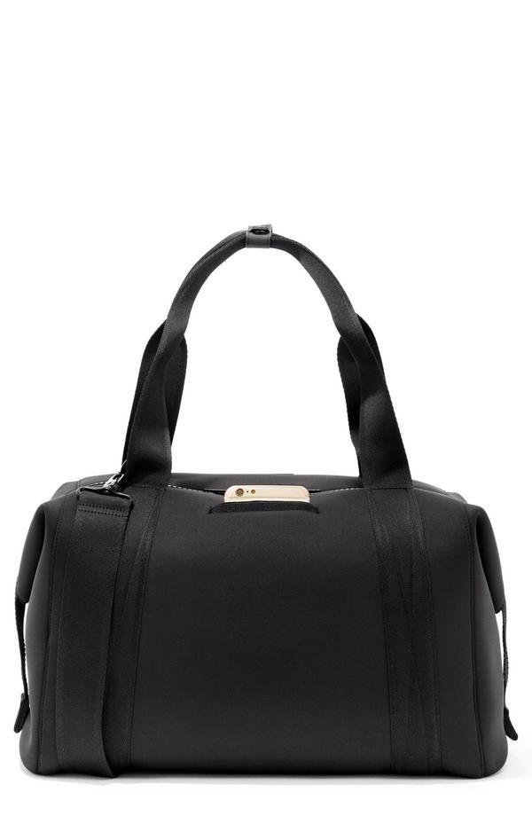 Dagne Dover 365 Large Landon Neoprene Carryall Duffel Bag in Black