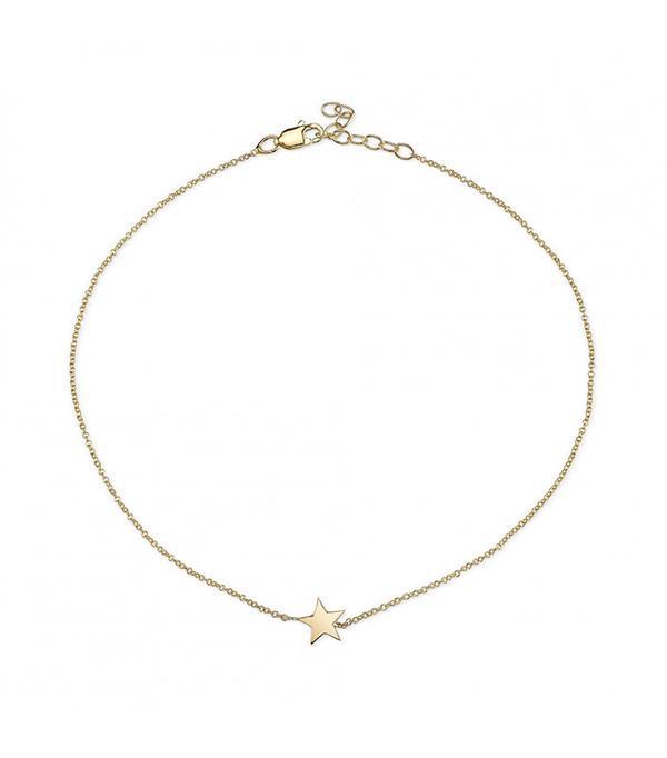 Starling Star Anklet