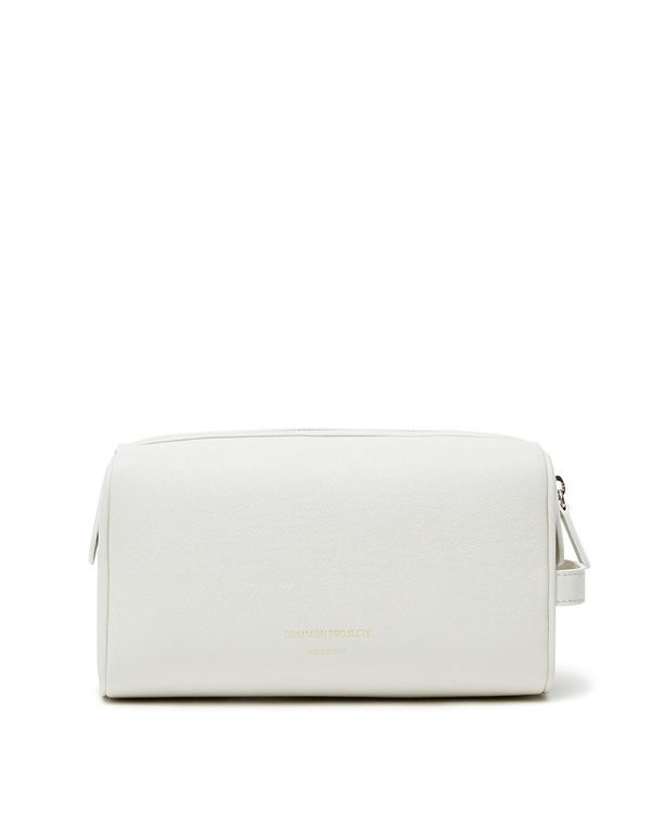 Toiletry Bag in Off White