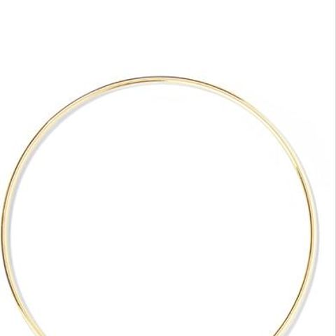 Mini Evil Eye 18-Karat Gold Diamond Bangle