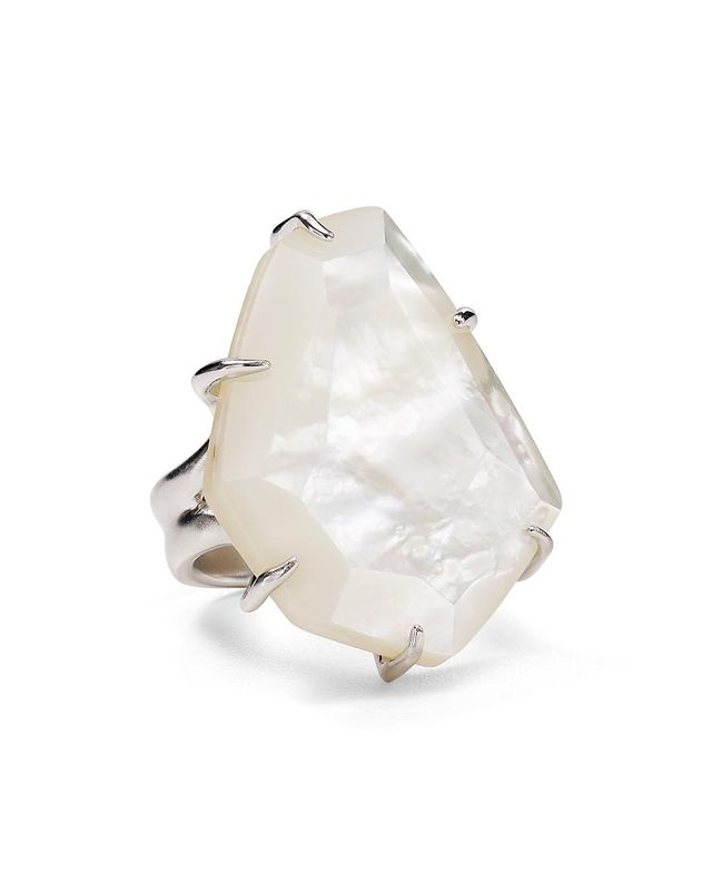 Megan Mother-of-Pearl Statement Ring