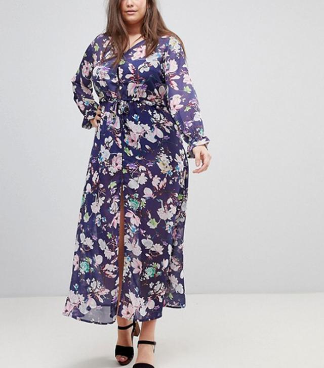 Saskia Cover Up Sheer Maxi Dress