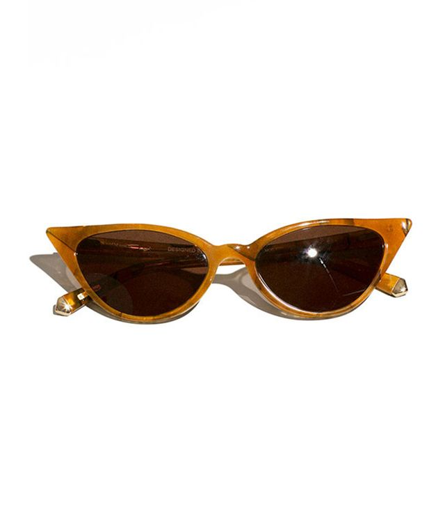 Kate Young for Tura Amber Lita Sunglasses