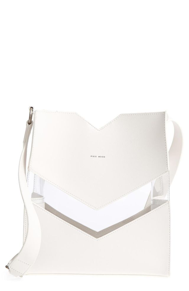 Emily Faux Leather Shoulder Bag -