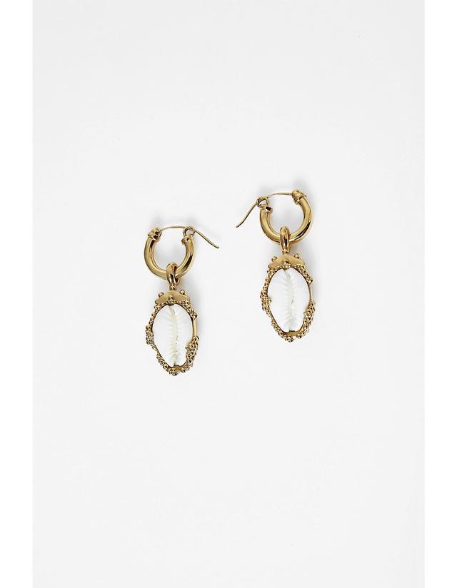 Ellery Rosalind Small Shell Earrings