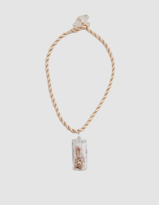 Maryam Nassir Zadeh Shell Pendant Necklace