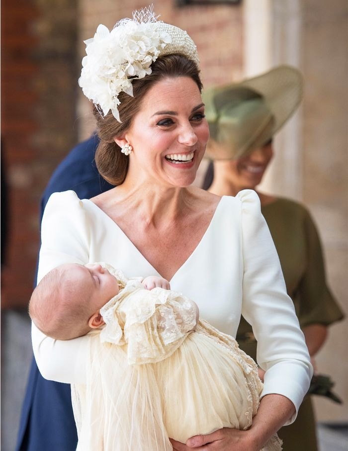 Duchess of Cambridge at Prince Louis's Christening