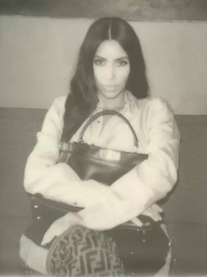 See North West, Her Mom, and Grandma Model for Fendi