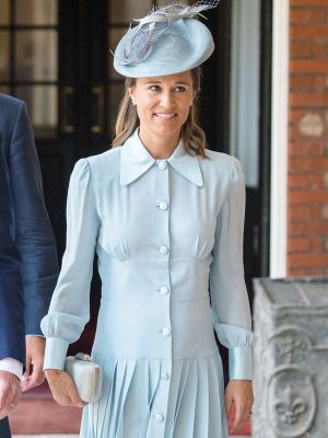 Pippa Middleton Wore a Regal Maternity Look for Prince Louis's Christening