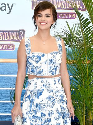 Selena Gomez Wore the Prettiest Velvet Bikini for a Yacht Party