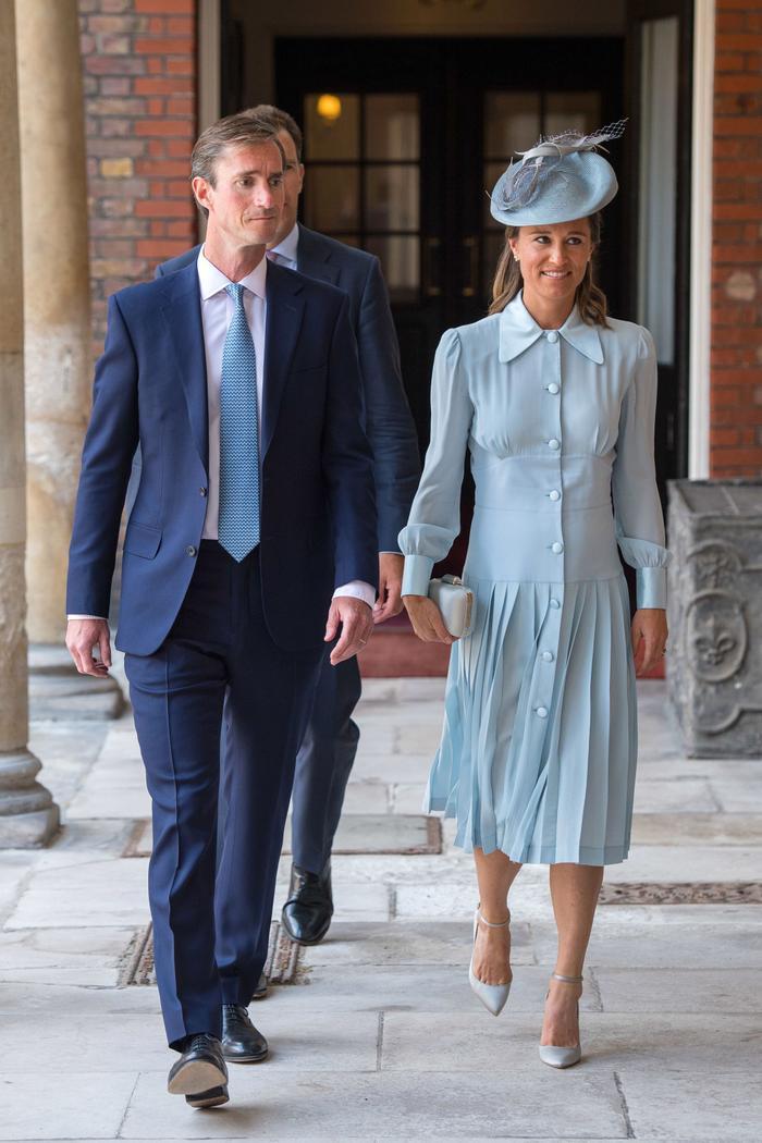 Pippa Middleton at Prince Louis's christening