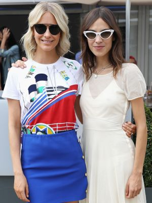 Alexa Chung Wore the Ultimate Summer Sneaker Outfit at Wimbledon