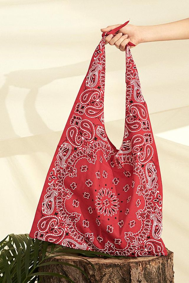 Front Row Shop Paisley Pattern Bag