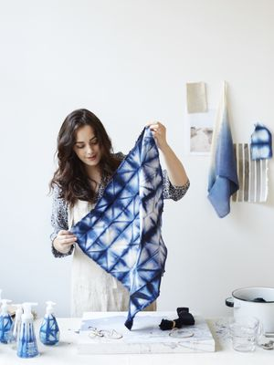 The Shibori Décor Trend Is Everywhere—Here's How to Do It