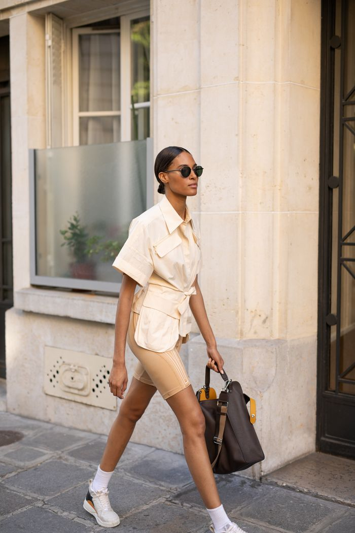 15 Biker Shorts Outfits You Will Love This Season Who What Wear
