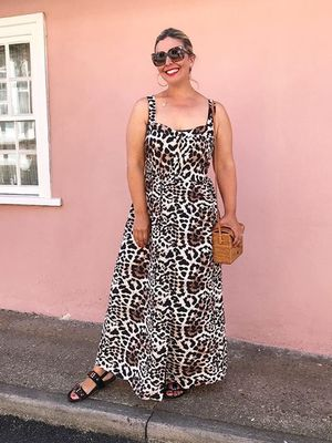This £38 Leopard Print Dress Keeps Selling Out—and We Can See Why