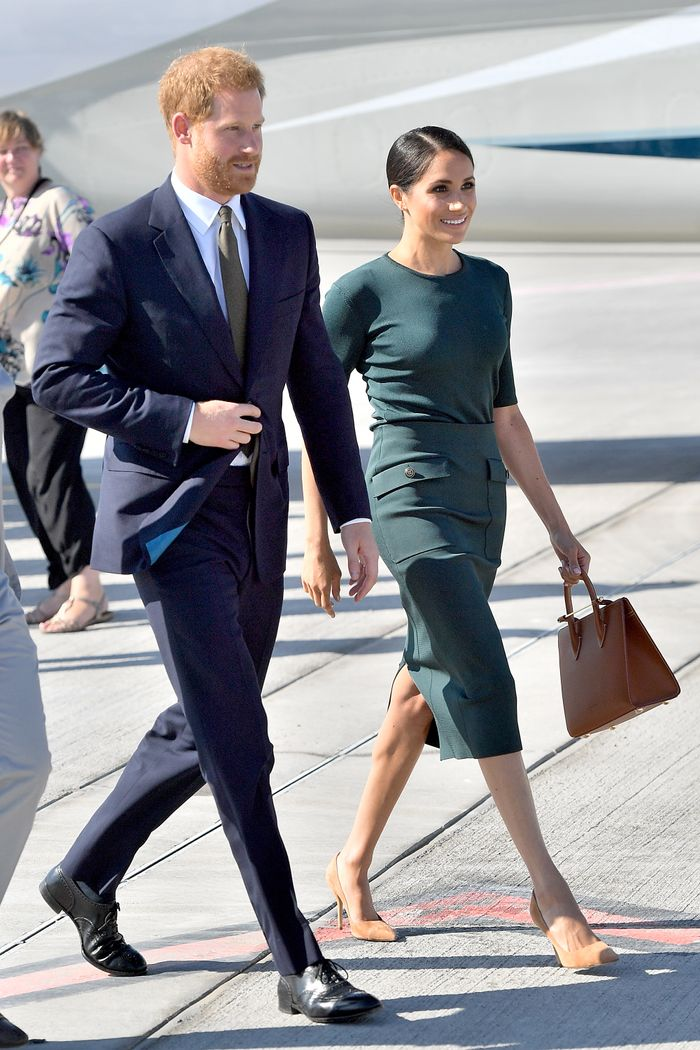 Meghan Markle Airport Style in Ireland