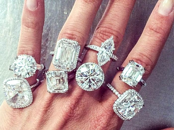 classic engagement rings street style