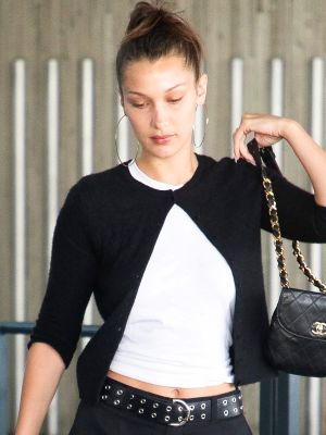 Bella Hadid Went to the Airport in a Trend Audrey Hepburn Wore 60 Years Ago
