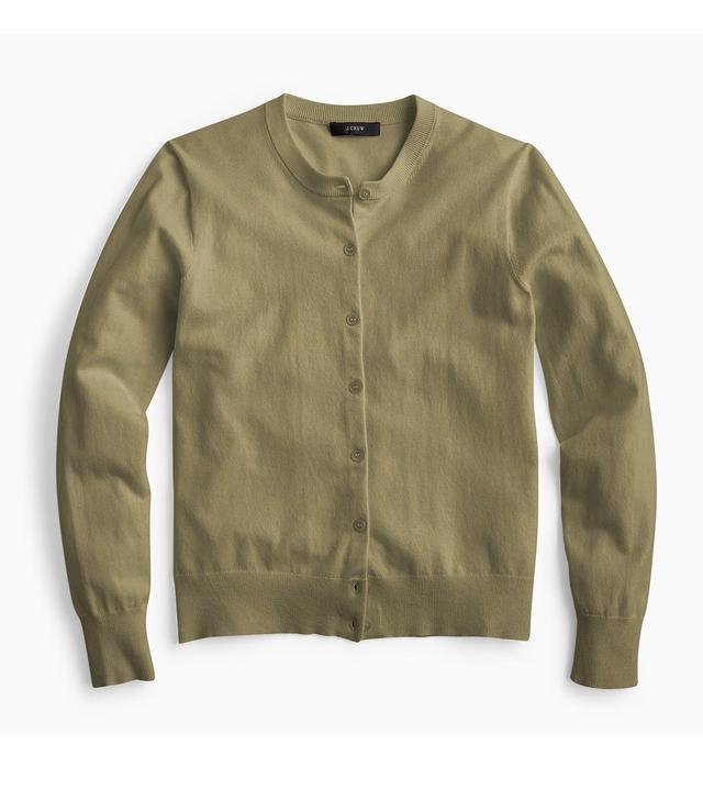 Cotton Jackie cardigan sweater