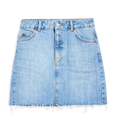 Tall Denim Mini Skirt