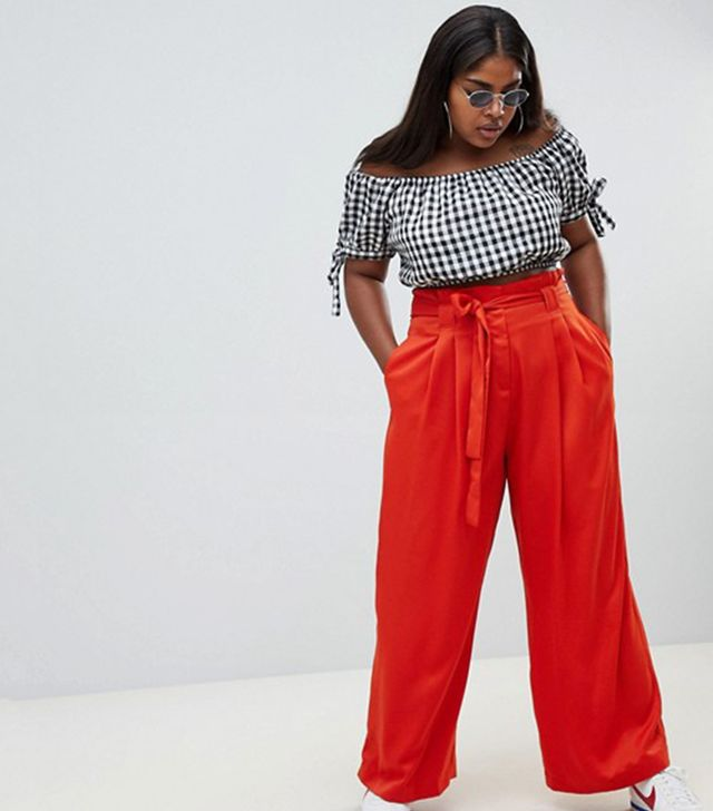 River Island Plus Wide-Leg Pants