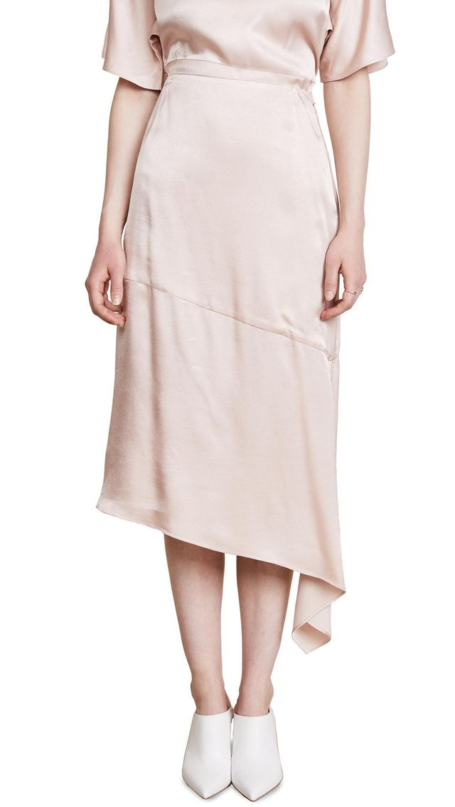 Cecil Asymmetrical Skirt