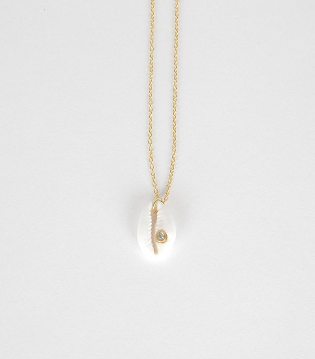 Gimauguas Single Coquillage Necklace