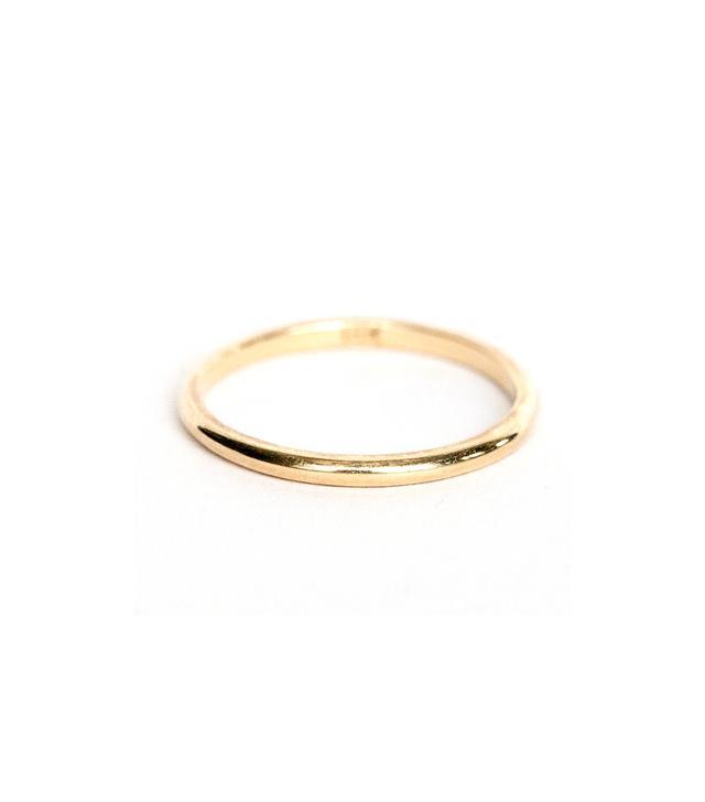 Octavia Elizabeth Gold Stack Ring