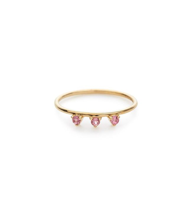 Stella and Bow Lily Ring