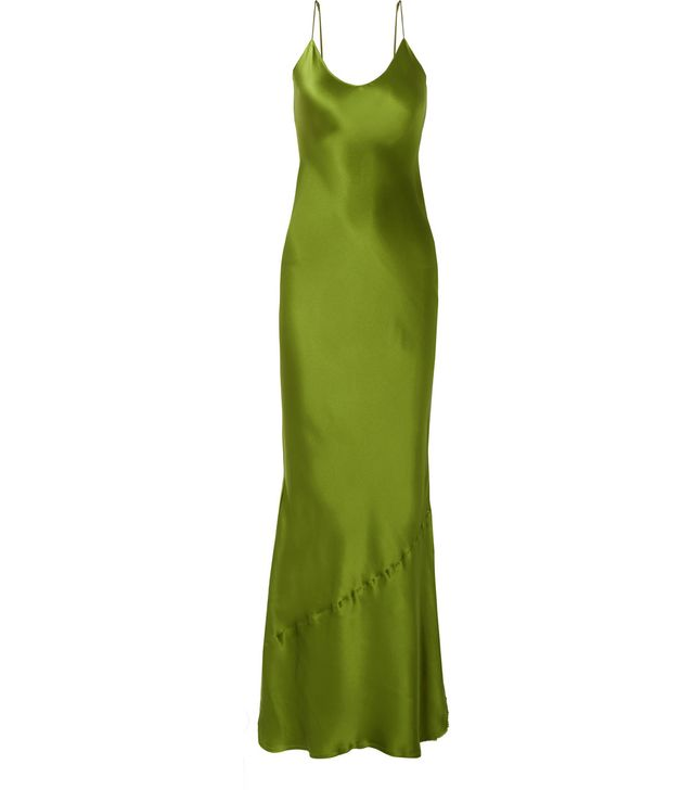 Cami Silk-satin Maxi Dress
