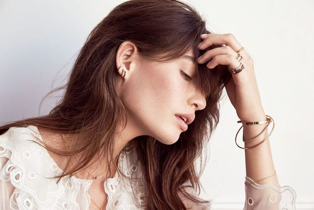 What pieces do you like as a signature piece? For me, a statement pair of diamond hoop style earrings is a must. They are day-to-night essentials. I live in diamond hoops, so for me they are my...