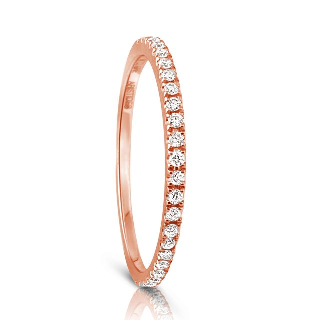 Aristides Fine Jewellery Infini Diamond Eternity Ring in Rose Gold