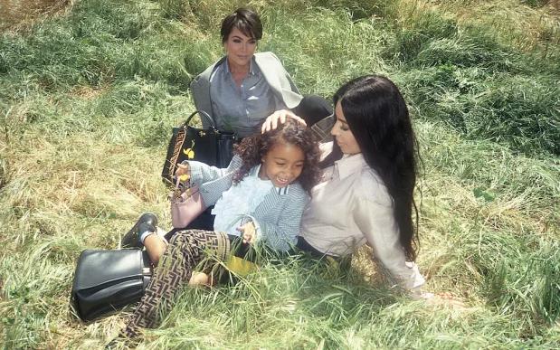 Kardashian Fendi campaign