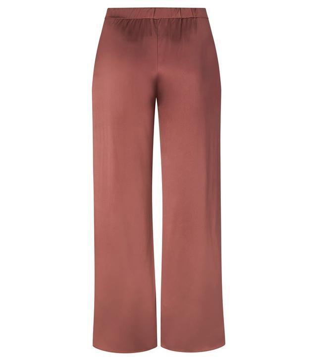 JC Obando Satin Wide Leg Trouser