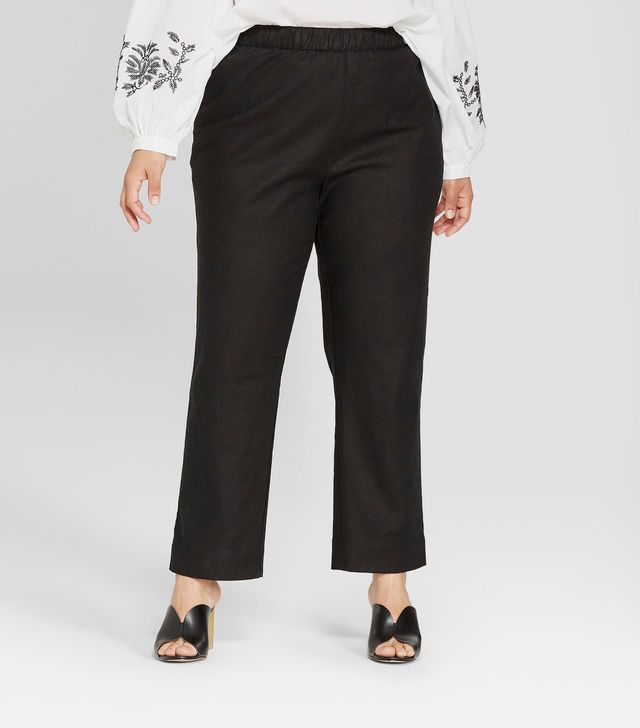 Who What Wear Collection Relaxed Pull-On Trouser
