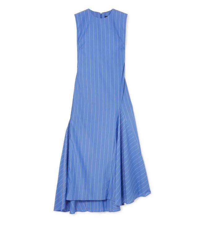 Nightwood Striped Cotton Midi Dress