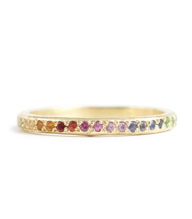 Elisa Solomon Ombré Eternity Band