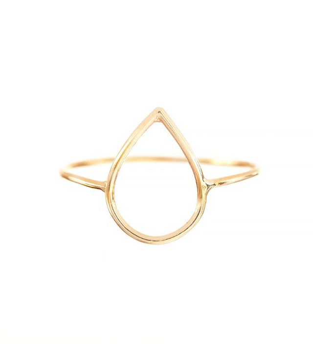 Ariel Gordon Silhouette Ring in Teardrop