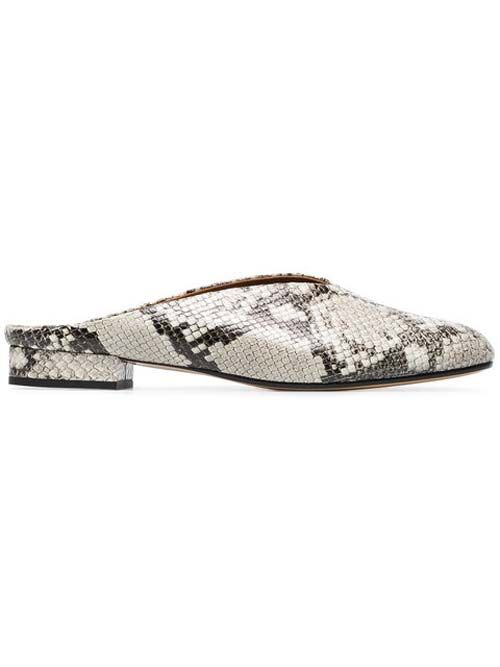 Snakeskin Mules: How to Fix Squeaky Shoes