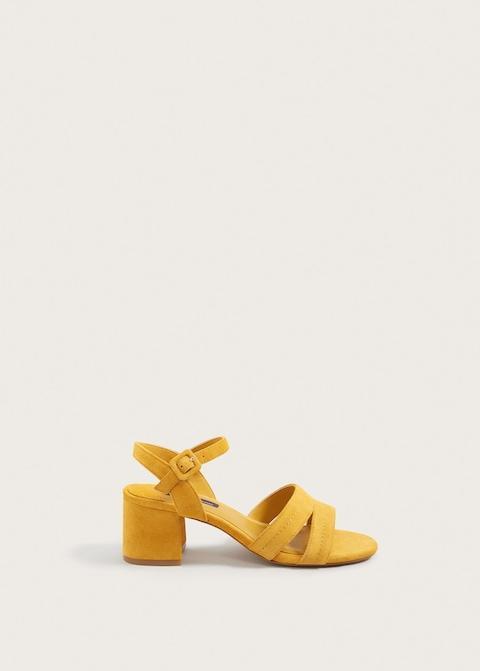 Violeta Leather Straps Sandals