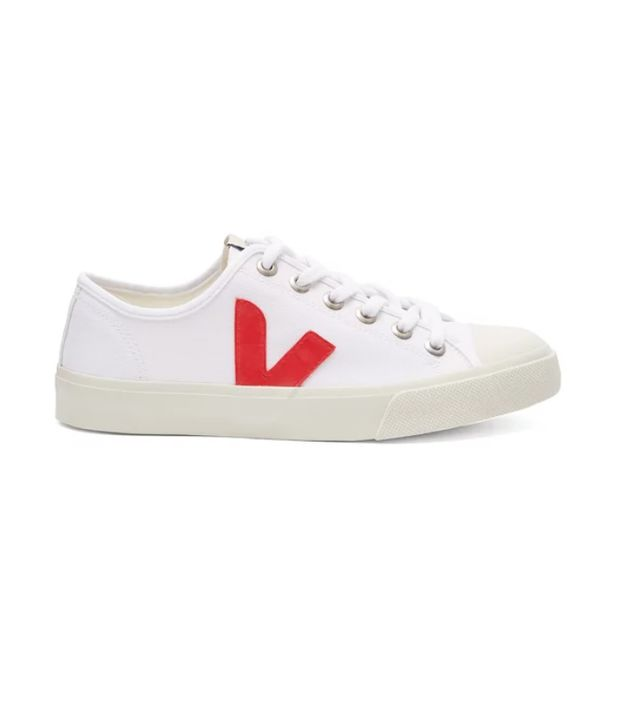 veja Wata Low-Top Canvas Trainers