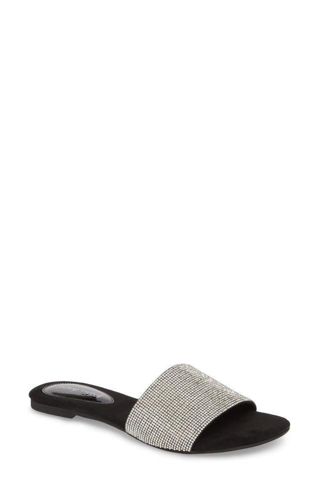Sparque Embellished Slide Sandal