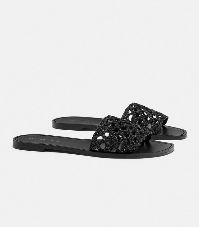 Zara Braided Slides