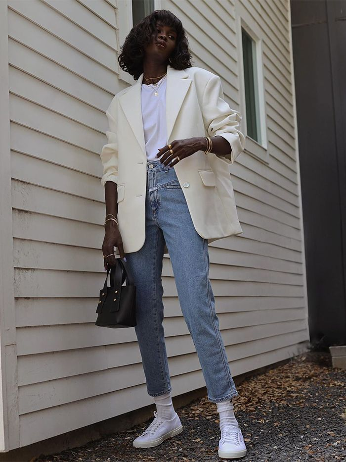 Jeans and Blazer Outfits: & Other Stories Blazer
