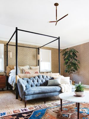 These 15 Small Sofas for Bedrooms Will Make Your Space Feel Like a Master Suite