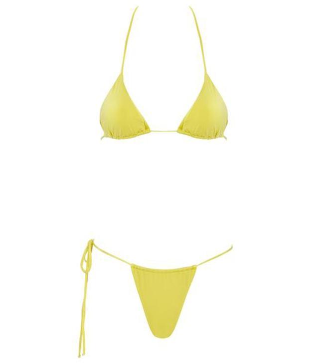Monica Hansen Beachwear That 90's Vibe Padded Triangle Top