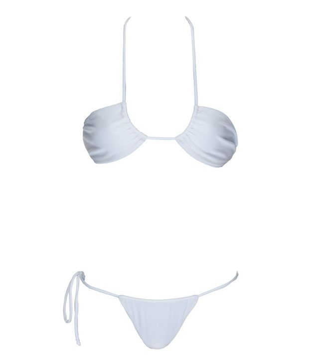 Monica Hansen Beachwear That 70's Style Embossed Halter Top